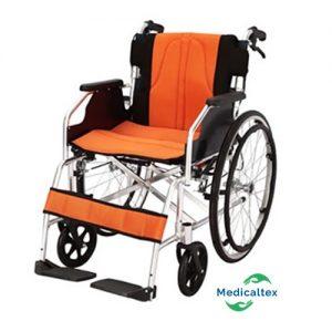 Silla de rueda, silla de rueda en aluminio, silla de rueda plegable