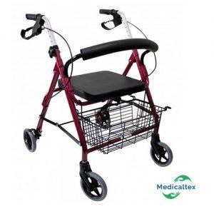 andador 4 ruedas, andador ortopedico, rollator, andador para adulto