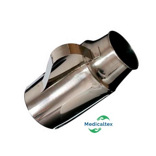 Papagayo de acero inoxidable urinario masculino medicaltex for Agarraderas para bano acero inoxidable
