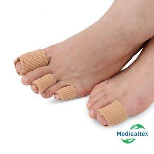 Protector Dedos Pie, Dedos de Los Pies, Protector de Dedos, Dedos Martillo Para Juanetes, callosidades, malformaciones, ampollas, dedo martillo y en garra