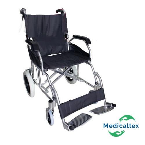 silla de paseo, silla de transporte, silla geriatrica, silla de ruedas de aluminio,