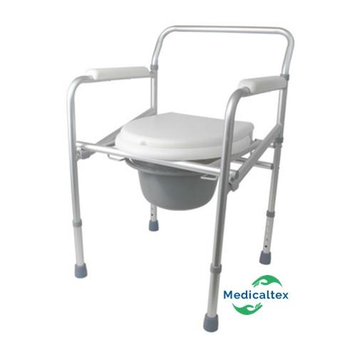 Silla De Aluminio Sanitario Plegable Medicaltex – Inodoro Kc3l1TFJ