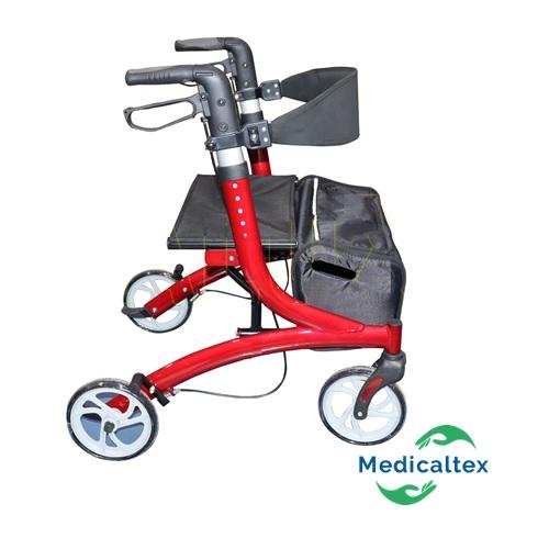 andador 4 ruedas con asiento, rollator, andador con asiento, andador,