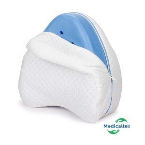 Almohada de espuma para piernas y rodillas, alivio del dolor para ciática, espalda, caderas, rodillas, articulaciones y embarazo, separador de rodilla