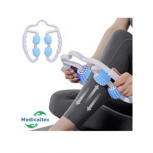 masajeador de piernas, Masajeador manual de rodillos musculares para el antebrazo, brazo, codo de tenis y pierna para liberación miofascial y fascial, masaje de tejido profundo para aliviar el dolor muscular